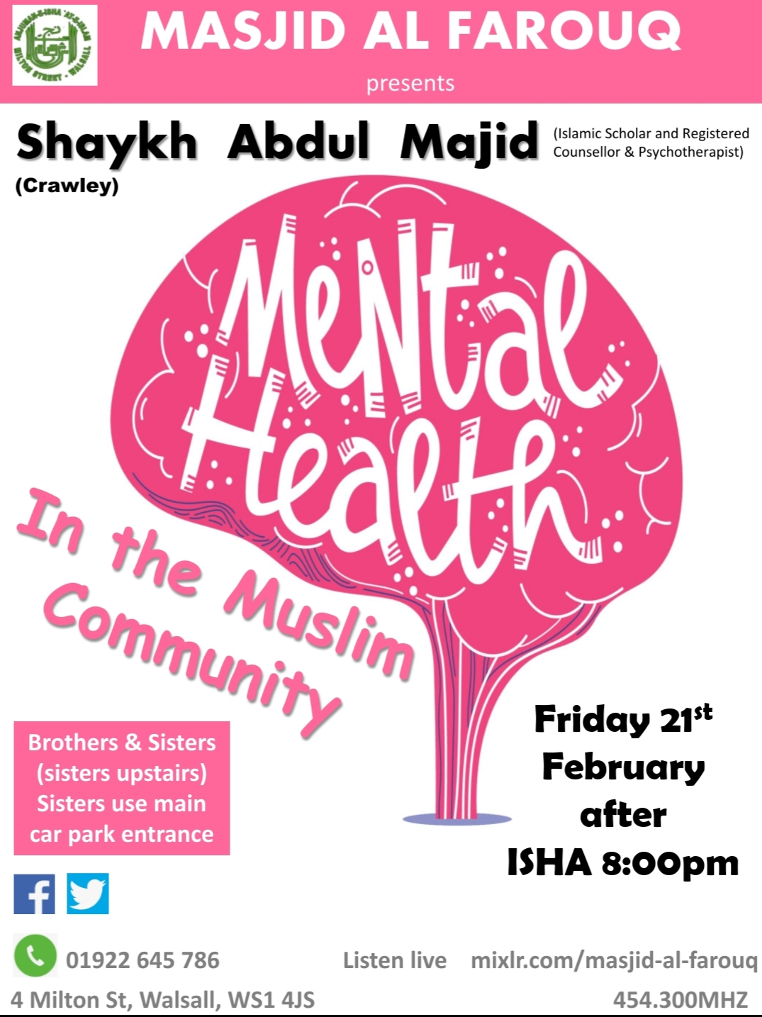 Mental Health - In the Muslim Community
